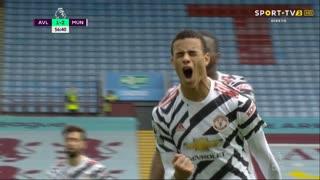 GOLO! Man. United, M. Greenwood aos 56', Aston Villa 1-2 Man. United