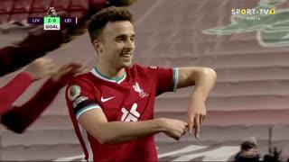 GOLO! Liverpool, Diogo Jota aos 41', Liverpool 2-0 Leicester City