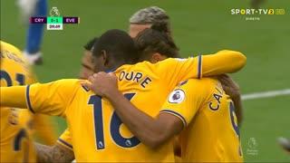 GOLO! Everton, D. Calvert-Lewin aos 10', Crystal Palace 0-1 Everton