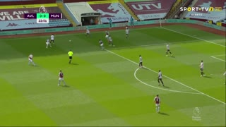 Premier League (35ª Jornada): Resumo Aston Villa 1-3 Man. United