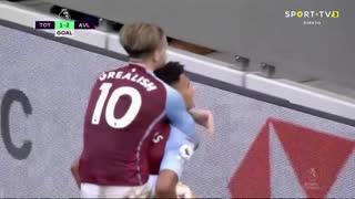 GOLO! Aston Villa, O. Watkins aos 39', Tottenham 1-2 Aston Villa
