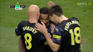 GOLO! Newcastle, C. Wilson aos 90'+7', Tottenham 1-1 Newcastle