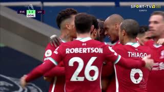 GOLO! Liverpool, Mohamed Salah aos 72', Everton 1-2 Liverpool