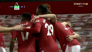 GOLO! Man. United, S. McTominay aos 2', Man. United 1-0 Leeds United
