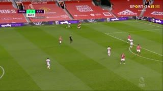 GOLO! Crystal Palace, W. Zaha aos 85', Man. United 1-3 Crystal Palace