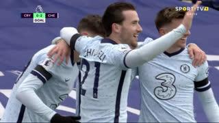GOLO! Chelsea, C. Pulisic aos 10', Crystal Palace 0-2 Chelsea