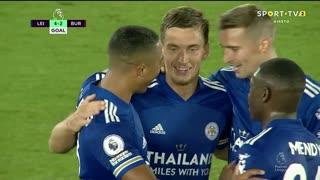 GOLO! Leicester City, D. Praet aos 79', Leicester City 4-2 Burnley