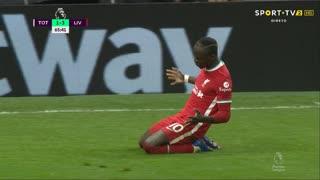 GOLO! Liverpool, S. Mané aos 65', Tottenham 1-3 Liverpool