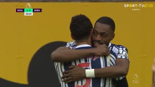 GOLO! West Bromwich Albion, S. Ajayi aos 52', Wolverhampton 2-2 West Bromwich Albion