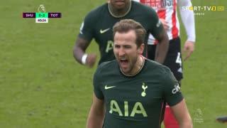 GOLO! Tottenham, H. Kane aos 40', Sheffield United 0-2 Tottenham