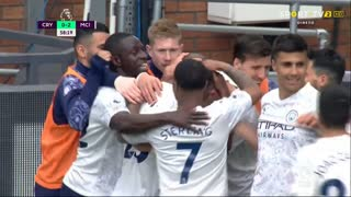 Premier League (34ª Jornada): Resumo Crystal Palace 0-2 Man. City
