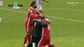 GOLO! Liverpool, Alisson aos 90'+5', West Bromwich Albion 1-2 Liverpool