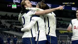 GOLO! Tottenham, G. Bale aos 49', Tottenham 2-1 Crystal Palace