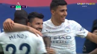 GOLO! Man. City, Aguero aos 57', Crystal Palace 0-1 Man. City