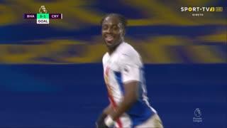 GOLO! Crystal Palace, J. Mateta aos 28', Brighton 0-1 Crystal Palace