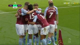 GOLO! Aston Villa, B. Traoré aos 24', Aston Villa 1-0 Man. United