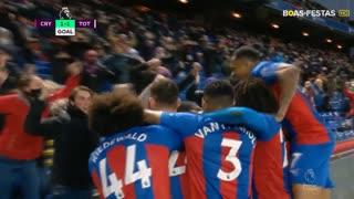 GOLO! Crystal Palace, J. Schlupp aos 81', Crystal Palace 1-1 Tottenham