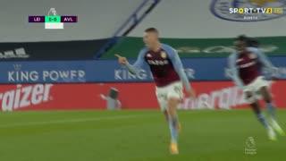 GOLO! Aston Villa, R. Barkley aos 90'+1', Leicester City 0-1 Aston Villa