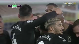 GOLO! West Ham, A. Ogbonna aos 80', Leeds United 1-2 West Ham