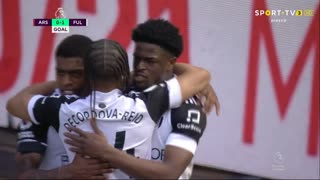 GOLO! Fulham, J. Maja aos 59', Arsenal 0-1 Fulham