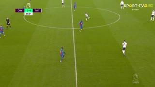 Premier League (12ª Jornada): Resumo Crystal Palace 1-1 Tottenham
