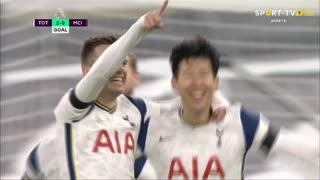 GOLO! Tottenham, G. Lo Celso aos 65', Tottenham 2-0 Man. City
