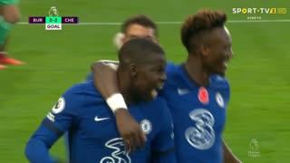 GOLO! Chelsea, K. Zouma aos 63', Burnley 0-2 Chelsea