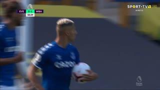GOLO! Everton, D. Calvert-Lewin aos 31', Everton 1-1 West Bromwich Albion
