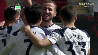 GOLO! Tottenham, Heung-Min Son aos 73', Southampton 1-4 Tottenham