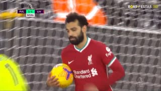 GOLO! Liverpool, Mohamed Salah aos 79', Fulham 1-1 Liverpool