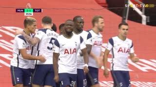GOLO! Tottenham, T. NDombèlé aos 4', Man. United 1-1 Tottenham