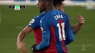 GOLO! Crystal Palace, W. Zaha aos 58', Crystal Palace 1-0 Leicester City