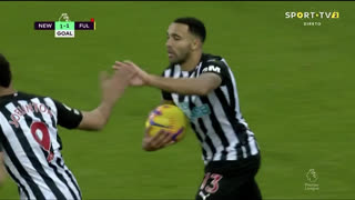 GOLO! Newcastle, C. Wilson aos 64', Newcastle 1-1 Fulham