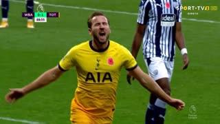 GOLO! Tottenham, H. Kane aos 88', West Bromwich Albion 0-1 Tottenham