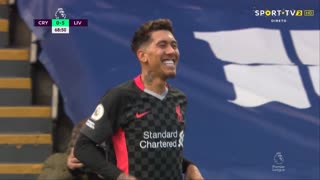 GOLO! Liverpool, Roberto Firmino aos 68', Crystal Palace 0-5 Liverpool