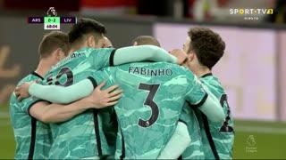 GOLO! Liverpool, Mohamed Salah aos 68', Arsenal 0-2 Liverpool