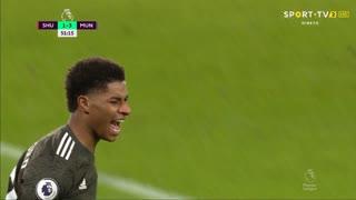 GOLO! Man. United, M. Rashford aos 51', Sheffield United 1-3 Man. United