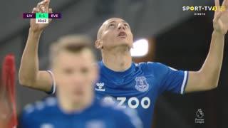 GOLO! Everton, Richarlison aos 3', Liverpool 0-1 Everton