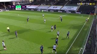 GOLO! Arsenal, Gabriel aos 49', Fulham 0-2 Arsenal