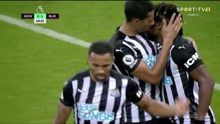 GOLO! Newcastle, C. Wilson aos 65', Newcastle 2-1 Burnley