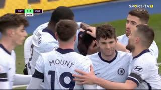 GOLO! Chelsea, K. Zouma aos 30', Crystal Palace 0-3 Chelsea