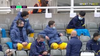 Premier League (30ª Jornada): Resumo Newcastle 2-2 Tottenham