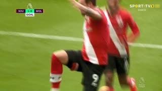 GOLO! Southampton, D. Ings aos 25', Southampton 1-0 Wolverhampton