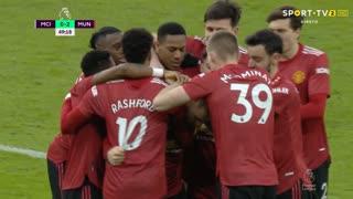 GOLO! Man. United, L. Shaw aos 50', Man. City 0-2 Man. United