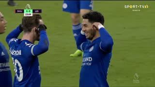 GOLO! Leicester City, Ayoze Pérez aos 24', Sheffield United 0-1 Leicester City