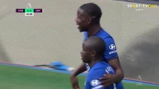 GOLO! Chelsea, K. Zouma aos 66', Chelsea 2-0 Crystal Palace