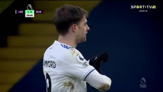 GOLO! Leeds United, P. Bamford aos 5', Leeds United 1-0 Burnley