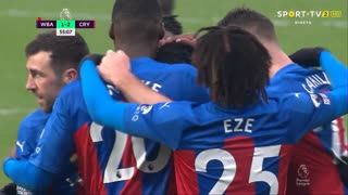 GOLO! Crystal Palace, W. Zaha aos 55', West Bromwich Albion 1-2 Crystal Palace