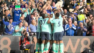 GOLO! Leicester City, J. Vardy aos 37', Crystal Palace 0-2 Leicester City