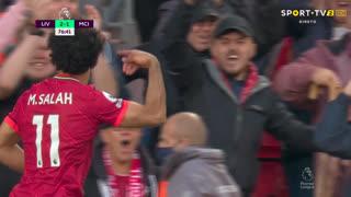 GOLO! Liverpool, Mohamed Salah aos 76', Liverpool 2-1 Man. City